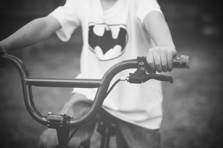 Child on his bike