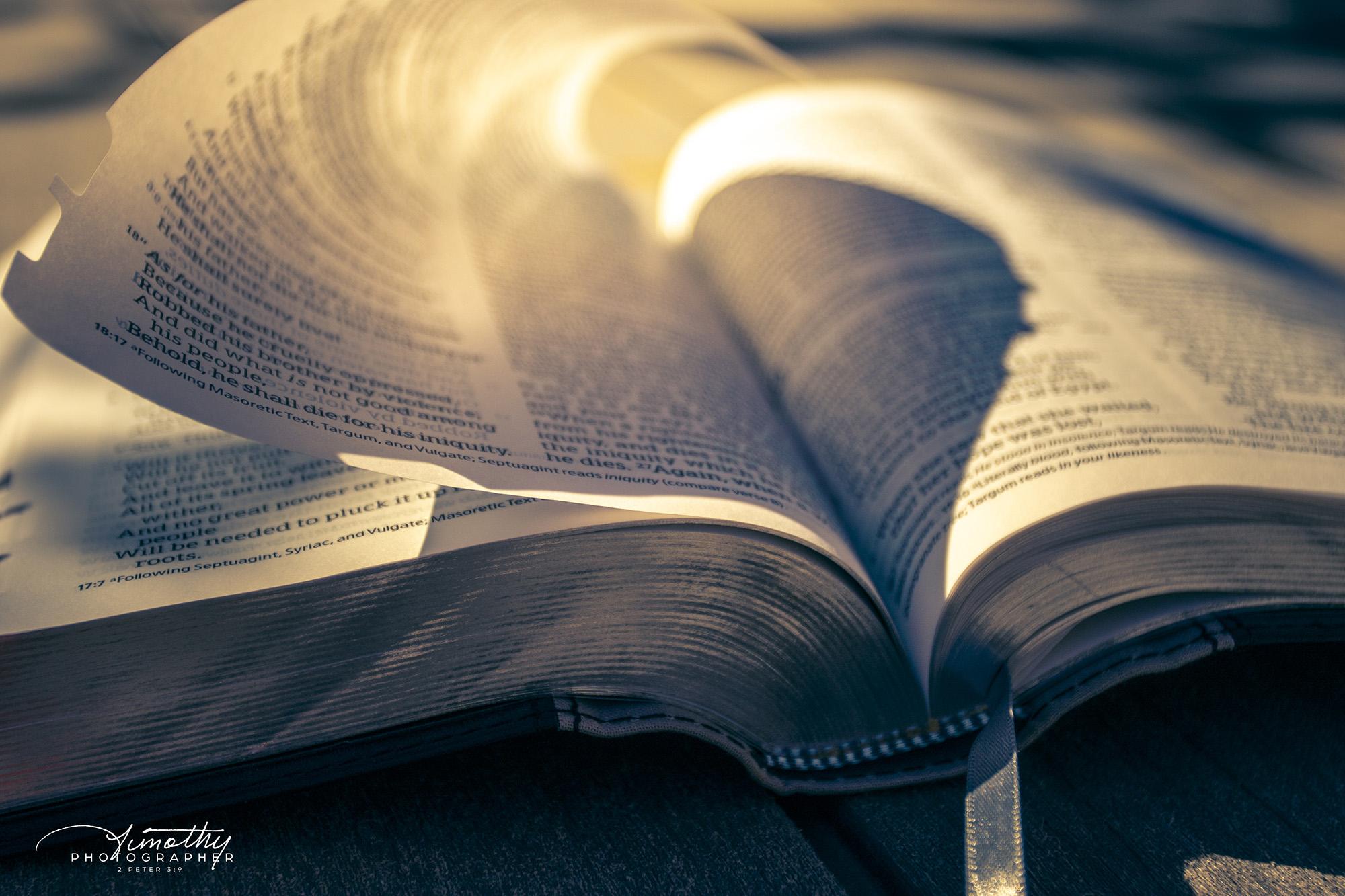 God's inspired Word