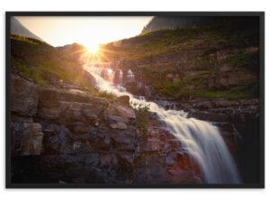 Water of life. Framed matte paper poster
