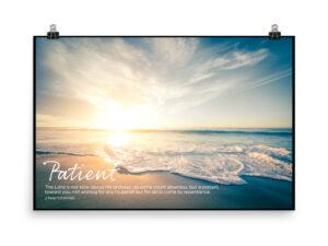 God is Patient – Poster