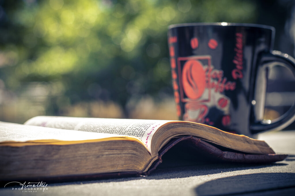 Morning Coffee and a Bible