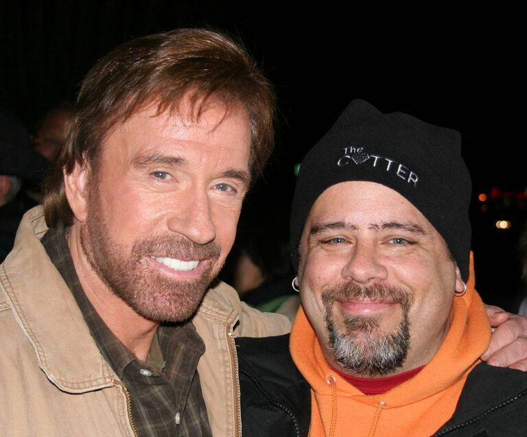 Chuck Norris and Timothy Eberly