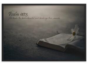 Healing – Framed matte paper poster