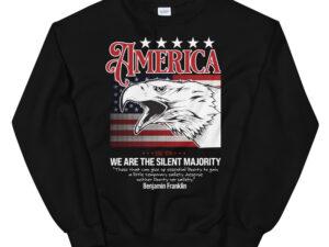 We are the silent majority – Unisex Sweatshirt