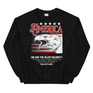 We are the silent majority – Unisex Sweatshirt