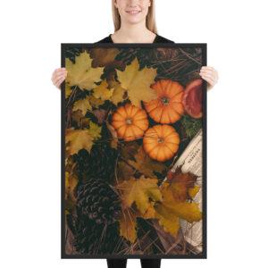 Autumn colors – Framed matte paper poster