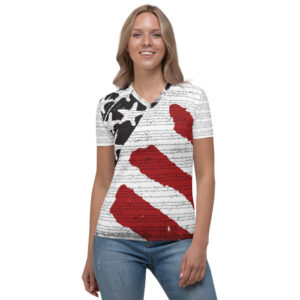 Constitution – Women's V-neck