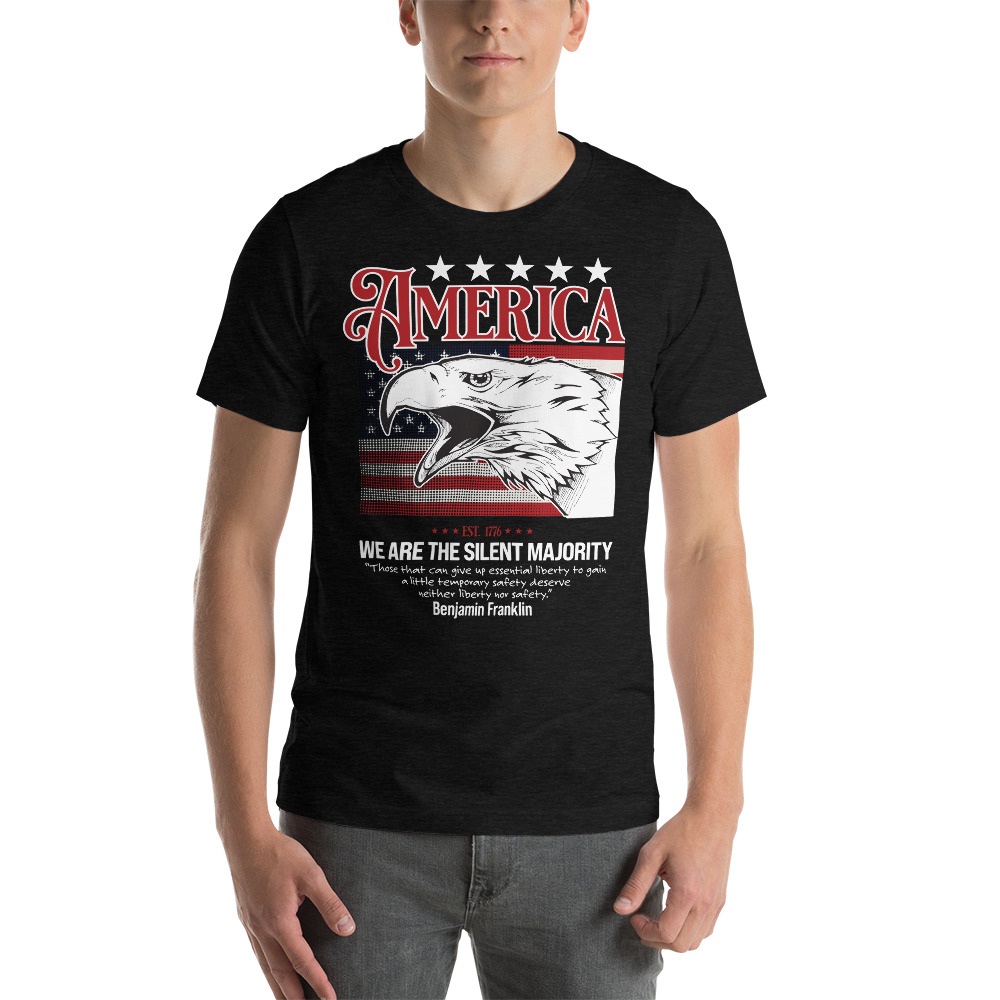 American Eagle Shirt on black