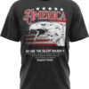 American Eagle Shirt on black