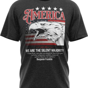 America's Silent Majority – Short-Sleeve Unisex T-Shirt