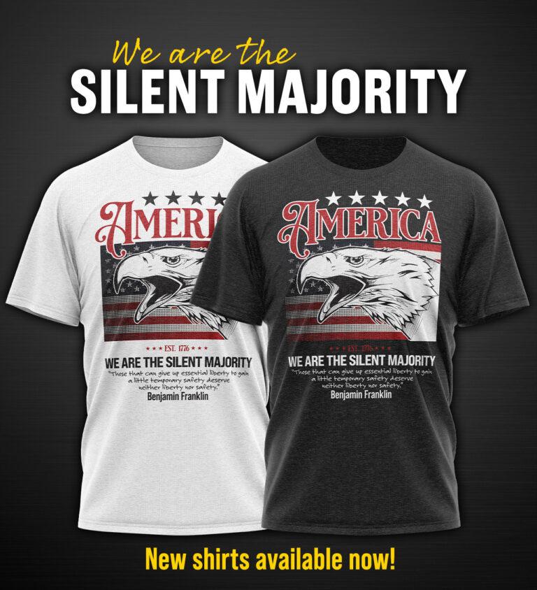 The new silent majority shirt