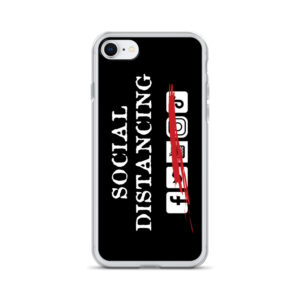 Social Distancing iPhone Case