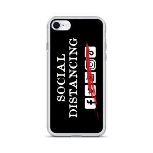 Social Distancing iPhone Case