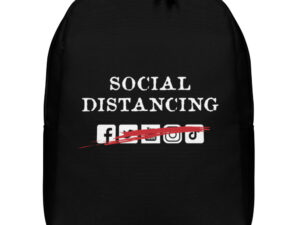 Social Distancing Minimalist Backpack