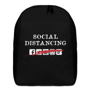 Social Distancing Minimalist Backpack