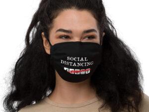 Social Distancing Premium face mask