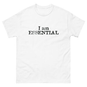 2020 essential Men's heavyweight tee