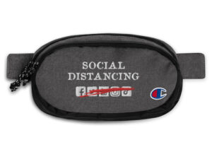Social Distancing Champion fanny pack