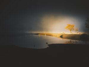 Light on Lake [desktop wallpaper]