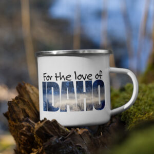 For the love of Idaho – Enamel Mug