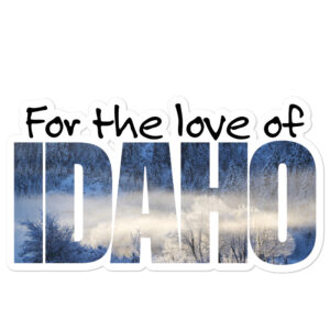 For the love of Idaho – Bubble-free stickers