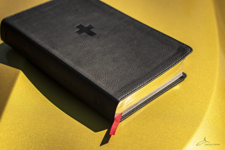 bible on gold
