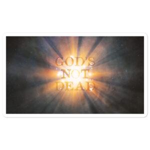 God's Not Dead Bubble-free stickers
